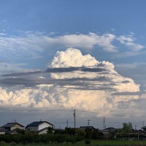 最後の入道雲