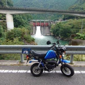 今日の青いバイク