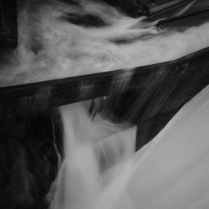 魚道の波濤