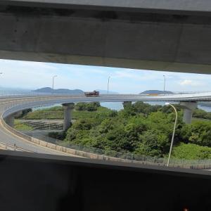 快速マリンライナー13号(岡山行)パノラマシートはそれほどでも~まぁ、でも楽しみましたが~