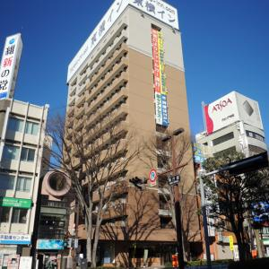 東横イン132甲府駅南口2に鉄ちゃん目線で泊まってみた。
