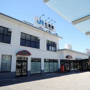 昭和59年に廃止された七尾線・貨物支線(七尾港線)七尾港駅跡を見てきた。