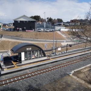 東日本大震災の津波で流失したJR山田線・織笠駅跡を訪ねてみた。