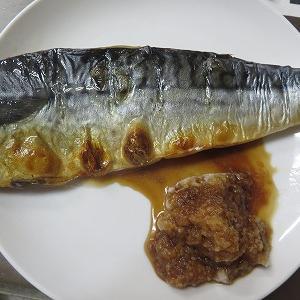 焼きグルメの焼きサバ