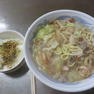 生麺から 焼きうどん・チャンポン