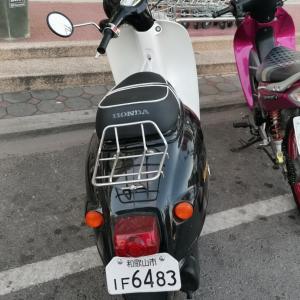 和歌山ナンバーのオートバイを発見!
