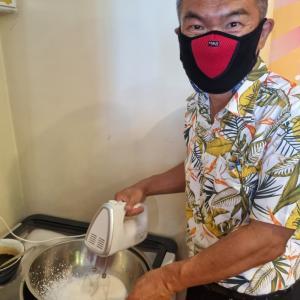 手作りバニラアイスが想像を超えた美味さだった^^