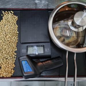珈琲好きの贅沢 手鍋で簡単自家焙煎