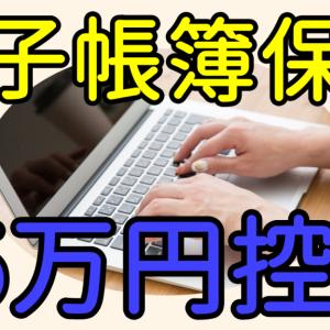 青色申告特別控除65万円を受けるための電子申告と電子帳簿保存とは?