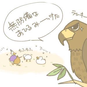【漫画】あひるちゃんとキウイちゃん(6)