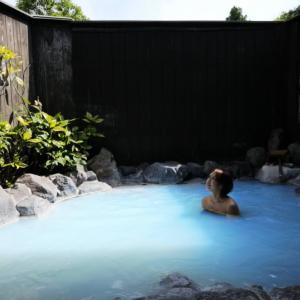 日本一メタケイ酸を含む青湯温泉 別府粋房おぐら