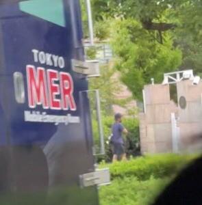 TOKYO MER 撮影現場か?
