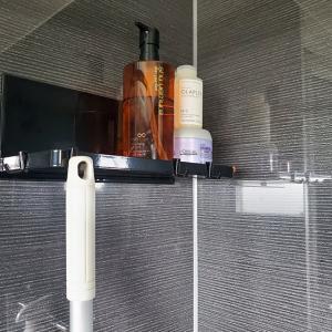 お風呂の棚をマグネット式のtowerに変更!【バスルームラック レビュー】