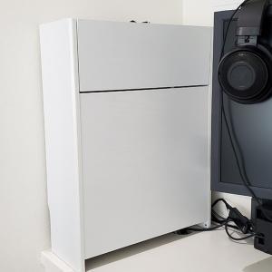 【レビュー】サンワダイレクトケーブルボックスでルーター・モデムを整理収納。【200-CB017】