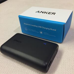 自転車旅に必携、Anker PowerCore Speed 10000 QC (10000mAh 大容量 モバイルバッテリー)【Quick Charge】