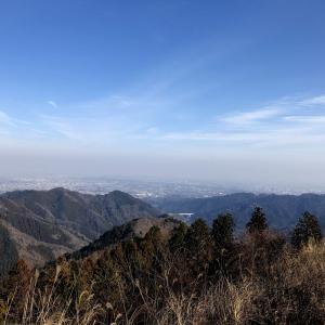 木下沢林道から景信山