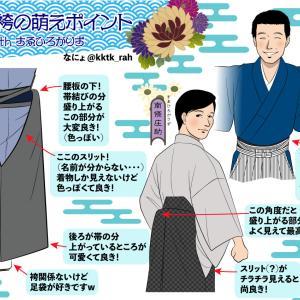【趣味絵】個人的袴の萌えポイント(withすゑひろがりず)を描いてみました(^^;)