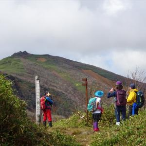 速報! 目国内岳ハイキング