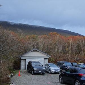強風、視界なし 樽前山・風不死岳トレーニング