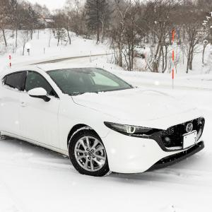 MAZDA3のAWDで初の本格雪道ドライブレポ