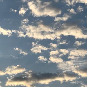 お空を見上げると