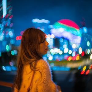 美しい夜へと【モデル:nanaさん3】