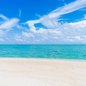 小魚の群れが波打ち際まで来る美しいビーチ♪【池間島・マサカダツビーチ(お浜ビーチ)】