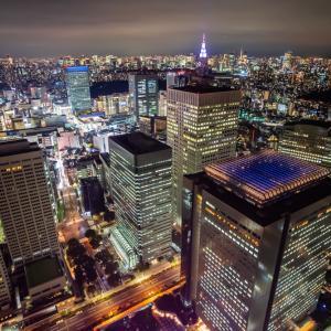 都庁の展望室から新しく発売されたSony α7SⅢで撮影した美しい夜景♪