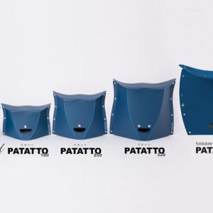 コンパクトな椅子