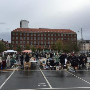コペンハーゲンのマーケットへ