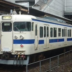 821系導入に伴う415系の運用離脱が本格化