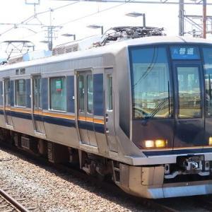 10月ダイヤ見直し時の京阪神緩行線の変化