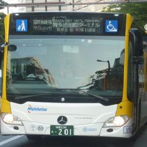 ベンツ製連節バスの勢力が大幅に拡大
