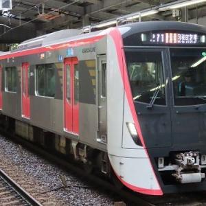 都営地下鉄浅草線車両の勢力が今春に逆転