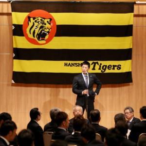 矢野監督「強いジャイアンツを倒せるように全力で」執念を燃やす!原口が医療施設慰問!