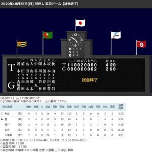 秋山9勝目で連勝、巨人丸9回2ランも2連敗!木浪が1軍復帰即先発で2安打!矢野監督も評価!