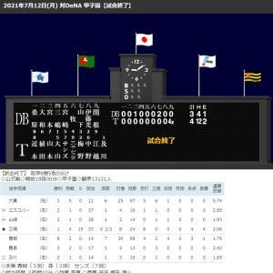 阪神9回二死から5連打で4点奪い逆転サヨナラ勝ち!4連続適時打、大山決めた!