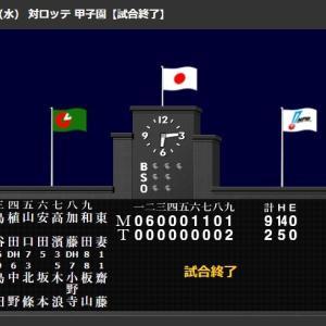 大山フェンス直撃2塁打!佐藤輝明が2塁打!前日本塁打に続きまた快音!伊藤将に矢野監督猛ハッパ!