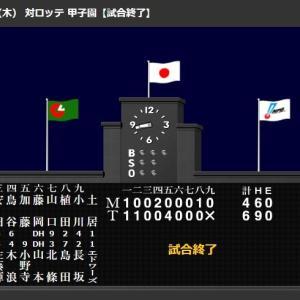 佐藤輝明、右中間へエキシビション3本目アーチ!島田海吏、生き残りへ必死犠飛!