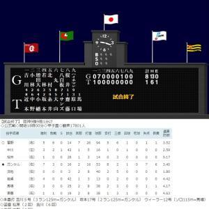 ガンケルまさかの2回7失点降板…ガンケル24日巨人戦先発回避も視野!糸原健斗が唯一の得点!