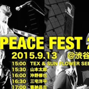 ハチ公前でOne Peace Fest 2015