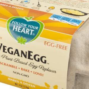 ベジタリアンのための植物性の卵 ヴィーガンエッグとヴェッグ