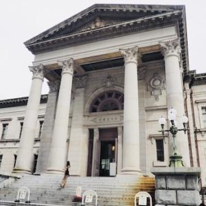 大阪府中之島図書館へ