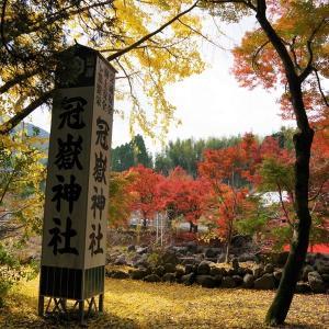 鹿児島県へ紅葉ツーリング(冠嶽神社)