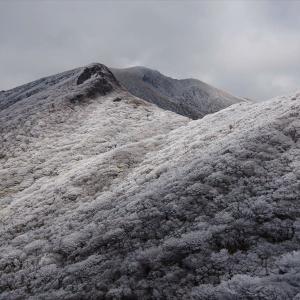 霧氷祭りのくじゅう連山へ