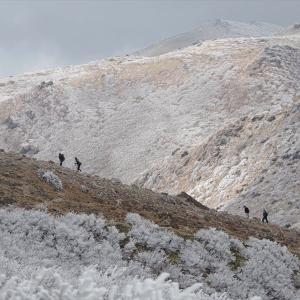 霧氷祭りのくじゅう連山へ 3