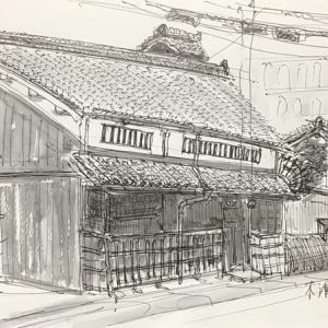 京都水族館近くの町家