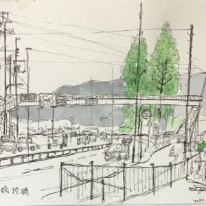 近江大橋西詰