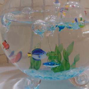 ◆ガラスのお魚