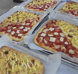 スクエアピザ 作り